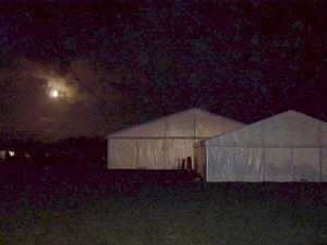 Marquees and Moon