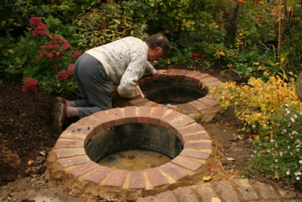 Garden Pond Edging Ideas pretty and small backyard fish pond ideas at decor landscape garden pond design fish pond garden Colin And Renata Hume Our House