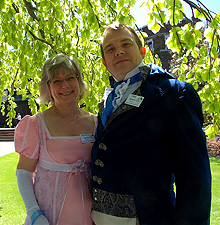 The Seppelers at the 2010 Jane Austen Ball in Rochester